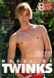 House Of Twinks DVD - Front