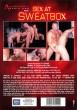 Sex at Sweatbox DVD - Back