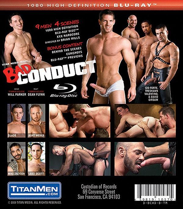 Bad Conduct BLU-RAY - Back