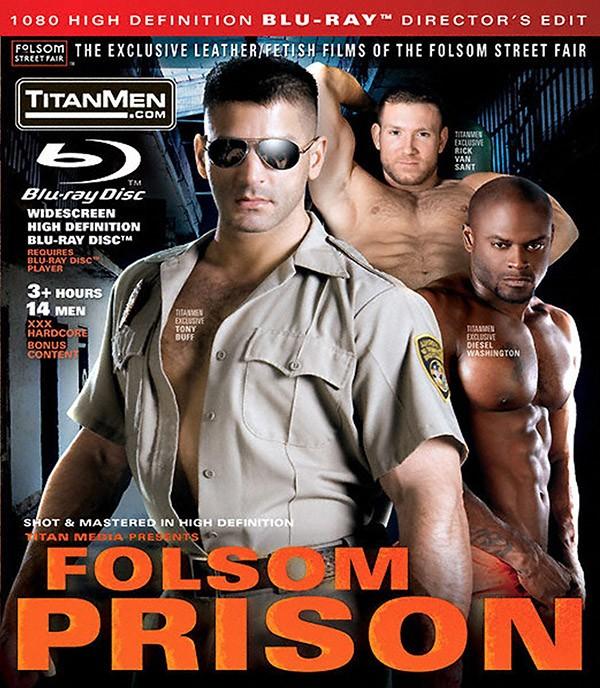 Folsom Prison BLU-RAY - Front