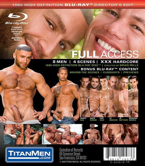 Full Access BLU-RAY - Back