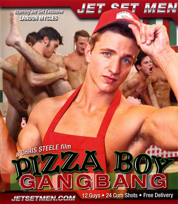 Pizza Boy Gangbang BLU-RAY - Front