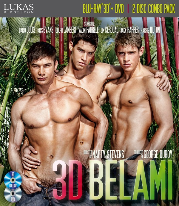 3D BelAmi BLU-RAY + DVD - Front
