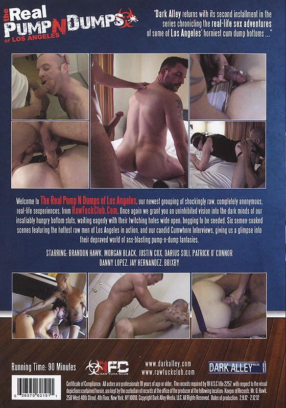 The Real Pump N Dumps Of Los Angeles DOWNLOAD - Back