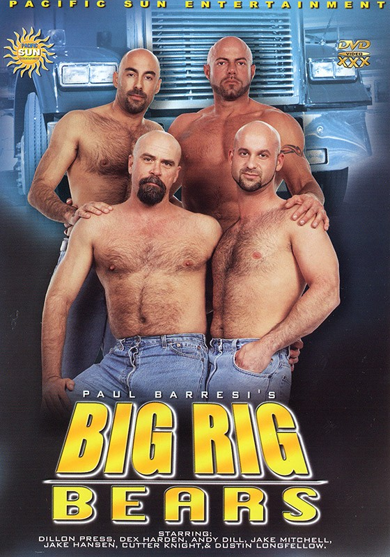Big Rig Bears DVD - Front