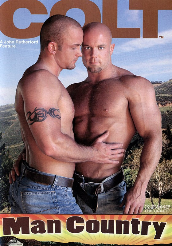 Man Country DVD - Front
