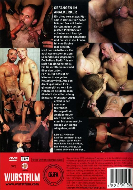 Gefangen Im Analkerker DVD - Back