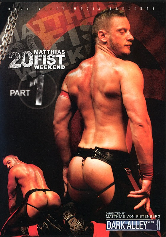 20 Fist Weekend part 1 DVD - Front