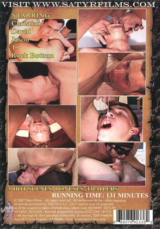 Ream His Straight Throat 3 DVD - Back