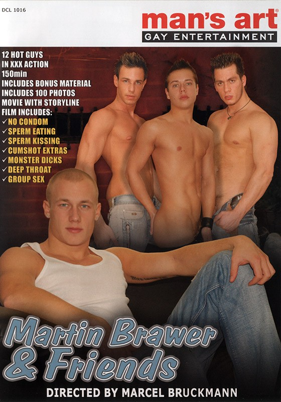 Martin Brawer & Friends DVD - Front