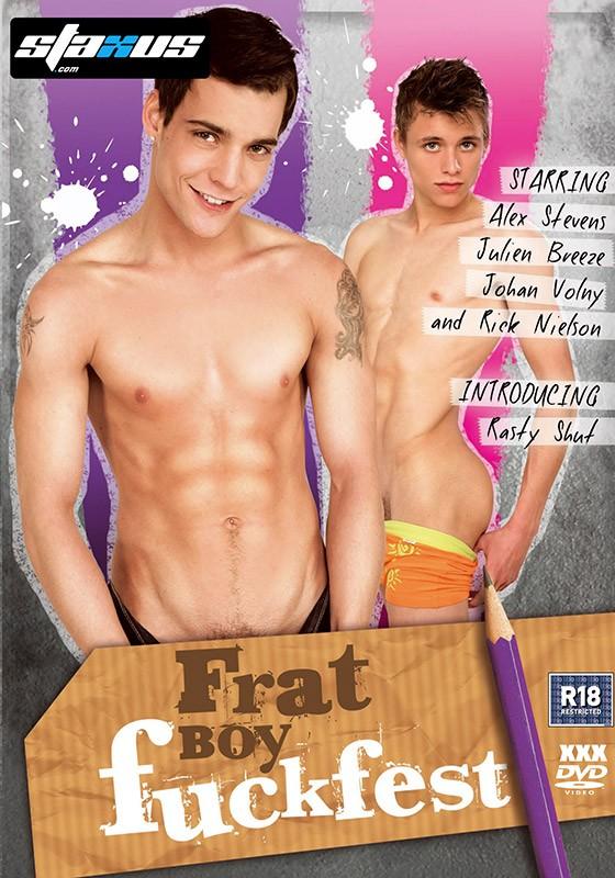 Frat Boy Fuckfest DVD - Front