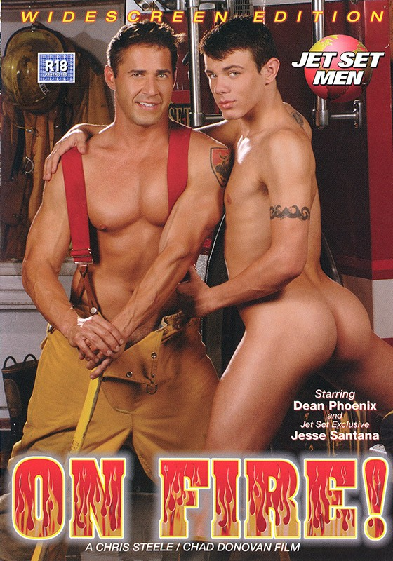 On Fire DVD - Front