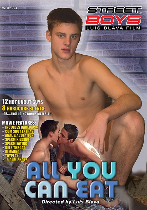 All You Can Eat DVD - Front