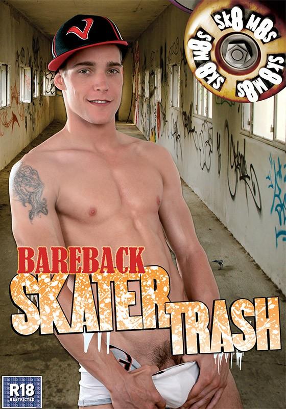 Bareback Skater Trash DVD - Front