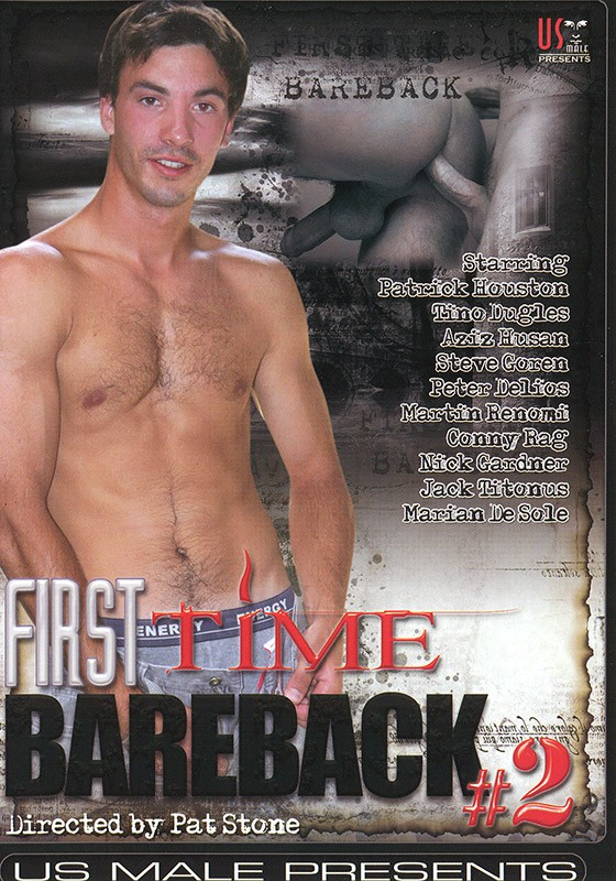 First Time Bareback 2 DVD - Front
