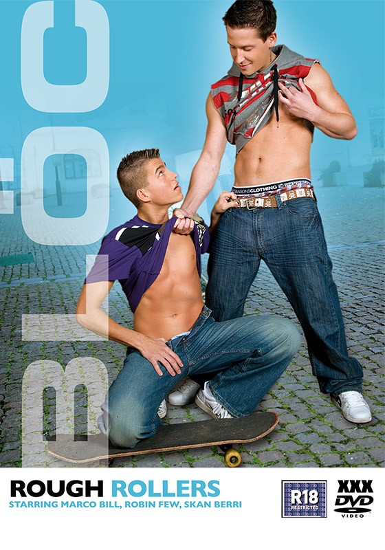 Rough Rollers DVD - Front