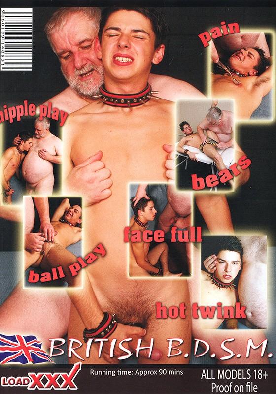 James Allen Punished DVD - Back