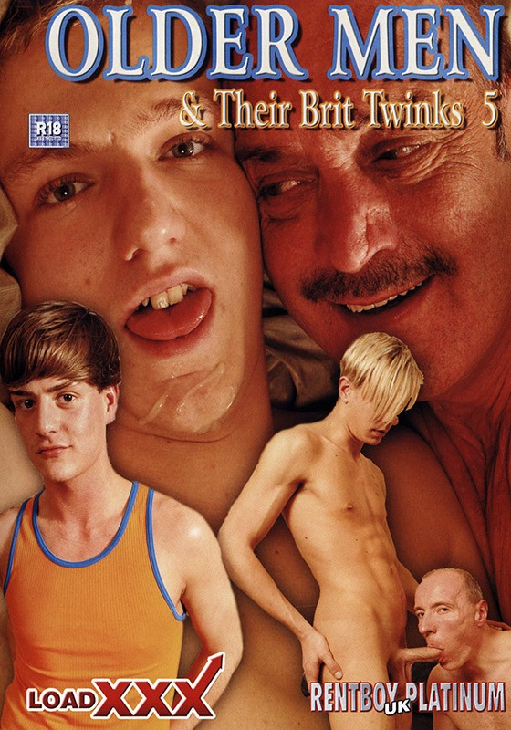 Older Men & Their Brit Twinks 5 DVD - Front