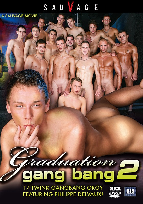 Graduation Gang Bang 2 DVD - Front