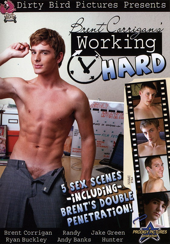 Brent Corrigan's Working Hard DVD - Front