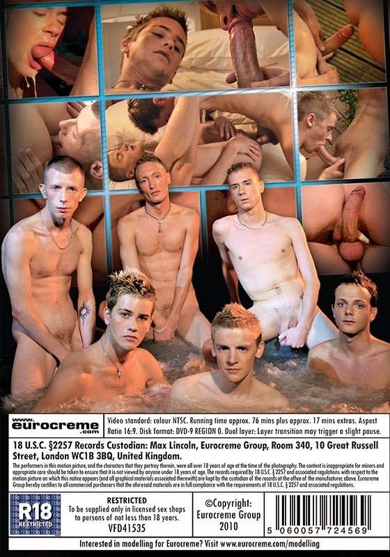 Hung Ladz: Monster Cock Orgy DVD - Back