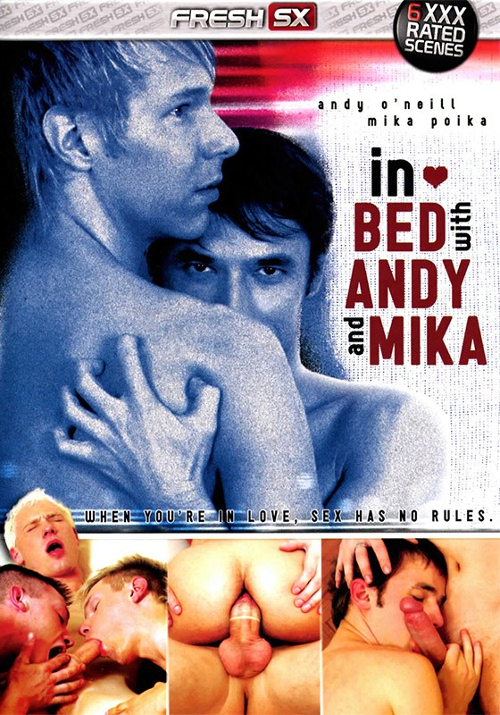 In Bed With Andy & Mika DVD - Front
