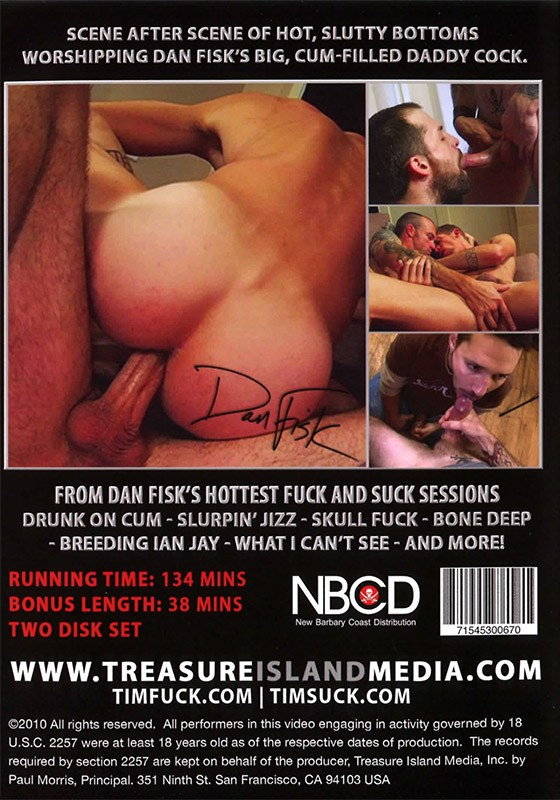 Legendary Studs: The Best of Dan Fisk DVD - Back