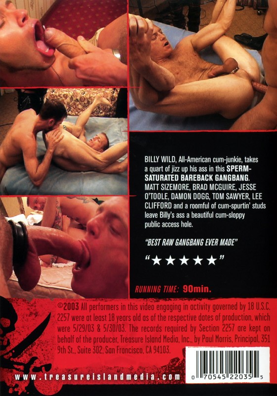 Riding Billy Wild DVD - Back