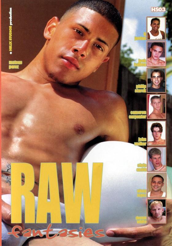 Raw Fantasies DVD - Front