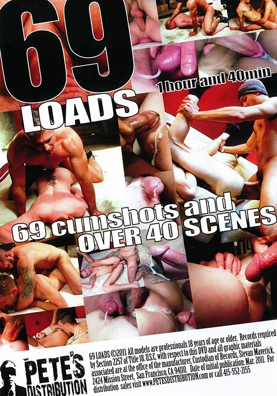 69 Loads DVD - Back