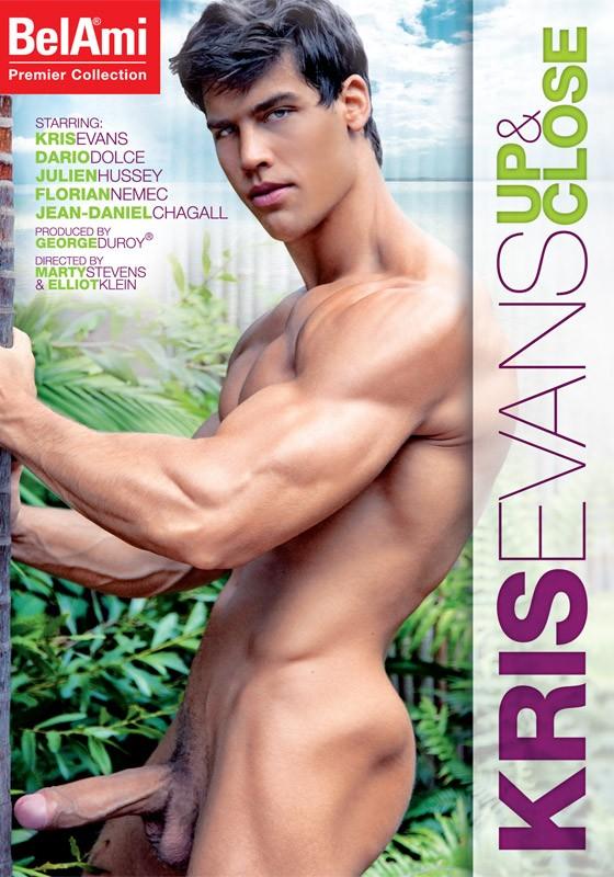 Kris Evans: Up & Close DVD - Front