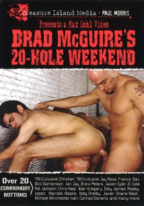 Brad McGuire's 20-Hole Weekend DVD - Front