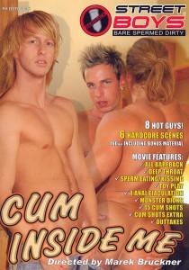 Cum Inside Me DVD - Front