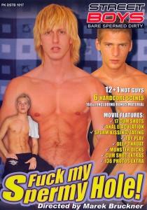 Fuck my Spermy Hole DVD - Front