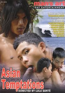 Asian Temptations DVD - Front