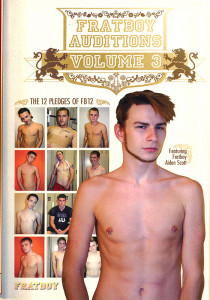 Fratboy Auditions volume 3 DVD (S)