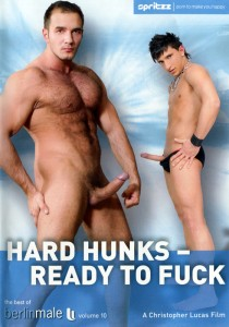 Hard Hunks - Ready To Fuck DVD - Front