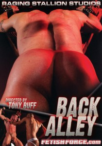 Back Alley DVD - Front