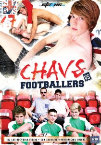 Chavs vs Footballers DVD - Front