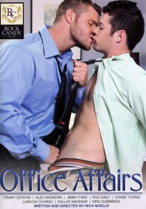 Office Affairs (Rock Candy) DVD - Front