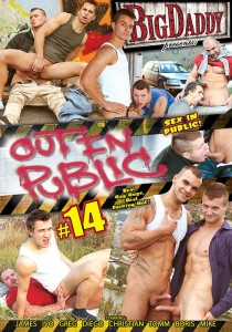 Out In Public 14 DVD - Front