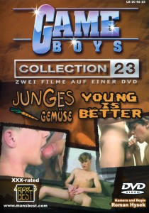 Game Boys Collection 23 - Junges Gemuese + Young Is Better DVDR (NC)