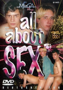 All About Sex DVD - Front
