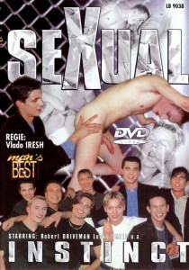 Sexual Instinct DVD - Front