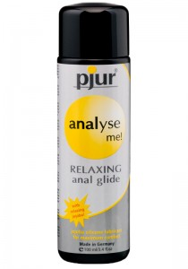 Pjur analyse me! RELAXING anal glide Bottle 100ml - Front