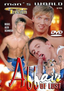 Affair of Lust DVD - Front