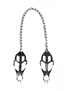 Clover Nipple Clamps with Chain - Front
