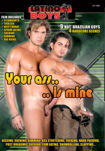 Your Ass Is Mine DVD - Front