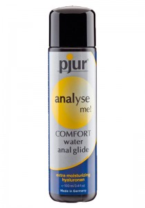 Pjur analyse me! COMFORT anal glide Bottle 100 ml - Front