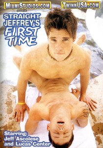 Straight Jeffrey's First Time DVD (NC)